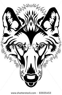 ravenous wolf - stock vector