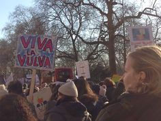 London - do love the word Vulva
