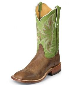 Ladies Cowboy Boots Tony Lama Tan Vintage Goat With Painted Cross