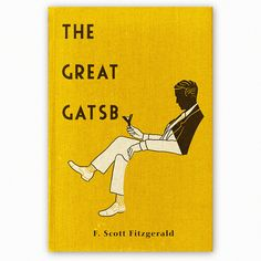 fan designed great gatsby covers // this one by aledlewis, via flickr // via flavorwire.com