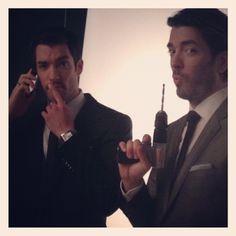 Drew & Jonathan Scott (Property Brothers)