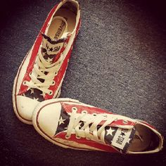 Even your shoes can show your American spirit on the 4th of July