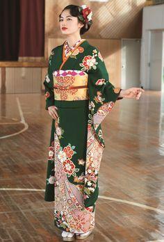 NO.1919 正絹 京友禅|成人式の振袖販売、振袖レンタルの京都きもの友禅