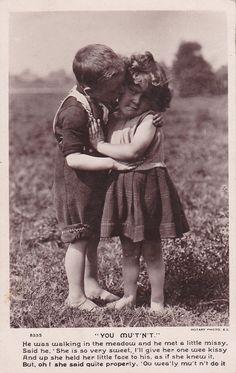 vintage postcard via Etsy