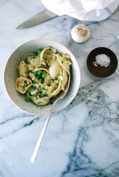 Pasta Shells with Melted Leeks 2