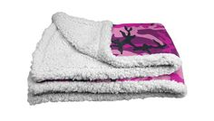 Candy Camo Blanket