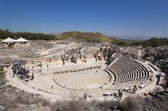 Romans once flocked to Beit She'an for entertainment such as blood sports. (Itamar Grinberg/Israel Tourism Ministry)