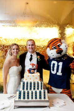 How cool would it be to have Aubie at your wedding reception!?!
