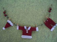 miniaturas natal feltro