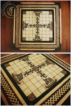 Tablut  an ancient finnish board game by Lalunaenunhilo on Etsy, €65.00