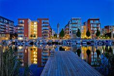 Sickla Kanal, Hammarby Sjöstad, Stockholm