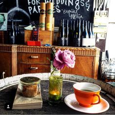 Loving this shot from our friend @tati_wade -- aside from great coffee you'll also find a selection of beautiful Larsen & Thompson teas at our cellar door. Order some homemade cake. Take a quiet moment. Do it.  #tea #cellardoor #basaltwines #killarney #portfairy #portfairypics #greatoceanroad #gourmetportfairy by basaltwines http://ift.tt/1UokfWI