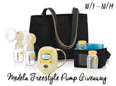 Medela Freestyle Pump with Accessories {Giveaway}! Ends 10/14 Open to US