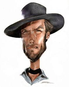 Clint Eastwood  Artist: Jeff Stahl  website: http://jeff-stahl.blogspot.com/
