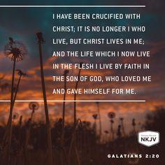 NKJV Verse of the Day: Galatians 2:20  GOD #faith #family #limu - edwhite.iamlimu.com