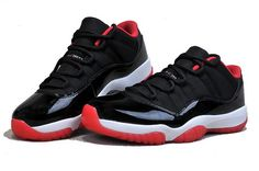 www.cheapretrojor... Only$62.00 Air Jordan 11 Bred Low Free Shipping!