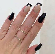 Acrylic Nail Shapes, Best Acrylic Nails, Nails Now, My Nails, Nail Art Designs Videos, Nail Designs, Tape Nail Art, Rose Nails, Minimalist Nails