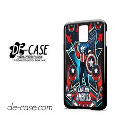 Marvel Pinball Captain America DEAL-6956 Samsung Phonecase Cover For Samsung Galaxy S5 / S5 Mini