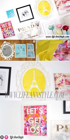 DIY Room Decor Wall Art | lifestyle