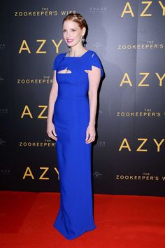Jessica Chastain - The Zookeeper's Wife Special Screening in Poland on March 7