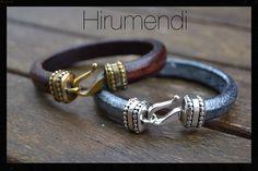 Leater bracelet by Hirumendi, Barcelona