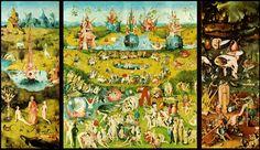 La obra El jardín de las delicias de El Bosco es una gran obra reconocida por su cantidad de elementos simbólicos. La trabajaría en  la clase de Lenguaje para acercar a los chicos a los textos descriptivos y narrativos, pues la obra nos presenta una temporalidad en cuanto al pasado, al presente y al futuro.