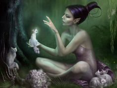 http://kittythedreamer.hubpages.com/hub/Faerie-Folklore-Elves-and-Pixies