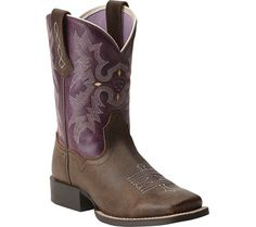 Ariat Tombstone - Vintage Bomber/Plum Full Grain Leather - FREE Shipping & Exchanges | Shoebuy.com