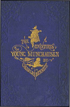 ADVENTURES OF YOUNG MUNCHAUSEN by CHARLES BENNETT 1865