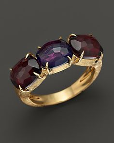 Marco Bicego Murano Amethyst and Garnet Ring | Bloomingdale's