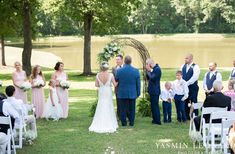 L'abri at Linwood - Yasmin Leonard Photography - NC Wedding Venues - NC Weddings - NC Photographer - High Point Wedding Photographer - Charlotte Wedding Photographer - Pink and Navy Wedding - Pale Pink Wedding - Outdoor Summer Wedding-34.jpg