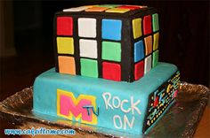 Cake Designs for Kids Birthdays -  MTV Cake #cakedesigns