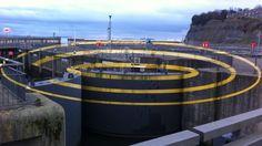 Artwork at Cardiff Bay barrage
