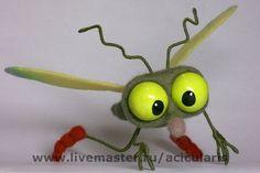 """IRINA EGOROVA ATSIKULYARIS - (acicularis) -- """"Mosquito"""" -- Handmade."""