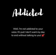 Addicted to ur voice💞