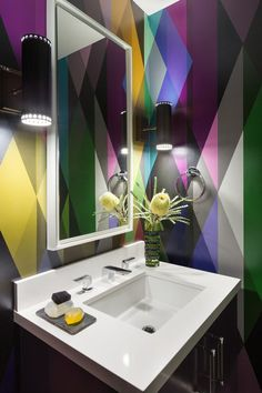 Bold colour choices by AnnLowengart - desire to inspire - desiretoinspire.net