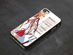 Sword art online asuna quote iPhone 4/4s/5/5c/5s Samsung by Donten, $14.53
