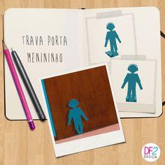 NOVIDADE DESIGN DE PRODUTO: trava porta Menininho, para você travar a porta do seu quarto e decorar com muito estilo. Gostou? www.lojageguton.com