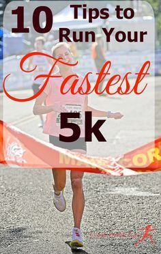 Are you ready to run your fastest 5k? Here are 10 tips that will help you set…