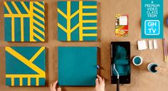 Learn How to Make a Stencil Painting for a Wall