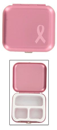 Breast Cancer Awareness - Breast Cancer Store - Pink Ribbon Pill Box