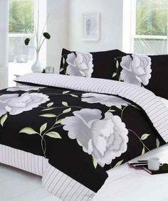 rosaleen black bedding set #QualityBedLinen
