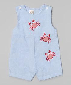 Another great find on #zulily! Blue Crab John Johns - Infant #zulilyfinds