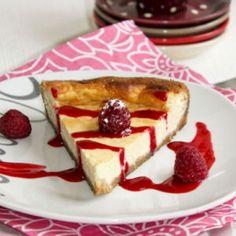 Cheesecake à la vanille © Souade Benabidi