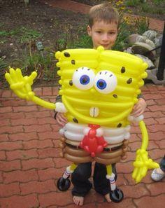 Spongebob balloon character #spongebob  #balloon #sculpture #twist #art #character