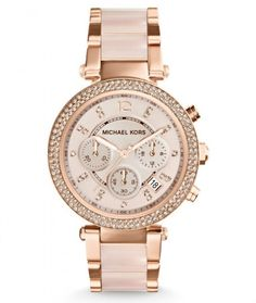 Buy Michael Kors Women's Parker Two-Tone Watch securely online today at a great price. Michael Kors Women's Parker Two-Tone Watch available today at Discounted Wat. Sac Michael Kors, Michael Kors Designer, Michael Kors Outlet, Handbags Michael Kors, Michael Kors Watch, Michael Watches, Bad Michael, Michael Kors Chronograph, Mickeal Kors
