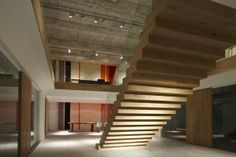 Stairs by M+R interior architecture by M+R interior architecture, via Behance