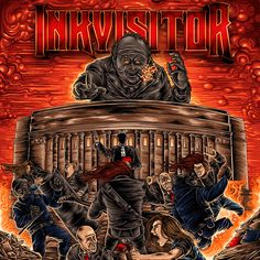 Inkvisitor - Doctrine of Damnation (17.08.2015) review @ Murska-arviot