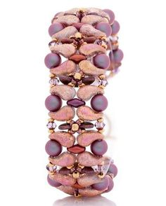 2-hole Zoliduo beads bracelet inspiraton