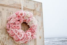 Floral Wreath | Photography: C. Baron Photography